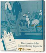 Herbert Tareyton Cigarettes - There's Canvas Print