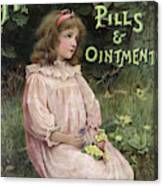 Holloway's Pills And Ointment Canvas Print