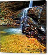 Holly River State Park Upper Falls Canvas Print
