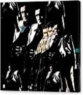 Johnny Cash Multiplied  Canvas Print