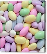 Jordan Almonds - Weddings - Candy Shop Canvas Print