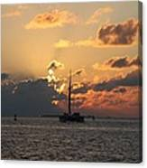 Marelous Key West Sunset Canvas Print