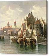 Kieler Canal Canvas Print