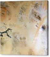 Koufra Oasis Libya Canvas Print