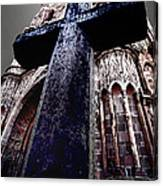 La Parroquia Cross Canvas Print