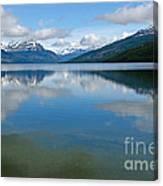 Lago Roca In Tierra Del Fuego National Park Canvas Print