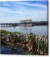 Little Washington Trestle Canvas Print