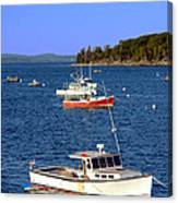 Maine Lobster Boat Canvas Print