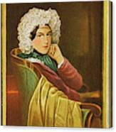 Marie Daffinger  Wife Of Artist Canvas Print