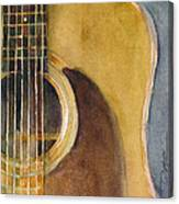 Martin Guitar D-28  Canvas Print