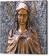 Mary Daughter Of Joachim Canvas Print
