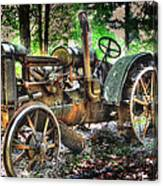 Mccormick Deering Tractor Canvas Print