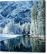 Merced River Reflection 2 Canvas Print