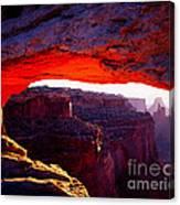 Mesa Arch Sunrise 2 Canvas Print