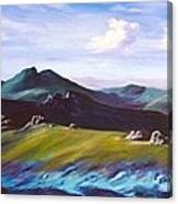 Mourne Mountains 1 Canvas Print