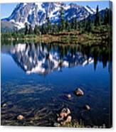 Mt. Shuksan Reflected In Picture Lake Canvas Print