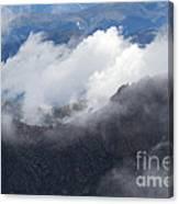 Mt. Bierstadt In The Clouds Canvas Print