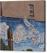 Mural On The Building Canvas Print