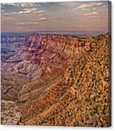 Navajo Viewpoint In Grand Canyon National Park Canvas Print