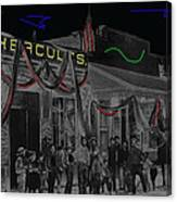 'neath Arizona Skies Homage 1934 California Powder Works  Congress Street Tucson Az Ca.1900 Canvas Print