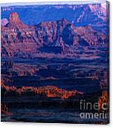 Needles Overlook  Canvas Print