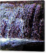 Neon Falls Canvas Print