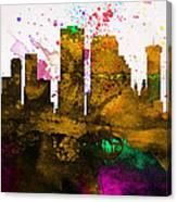 New Orleans City Skyline Canvas Print