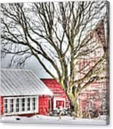 Oak Valley Farm Canvas Print