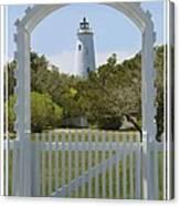 Ocracoke Island Lighthouse Canvas Print