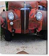 Old Old Car Canvas Print