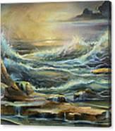 ' Ontario Evening ' Canvas Print
