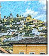 Panecillo Hill Quito	 Canvas Print