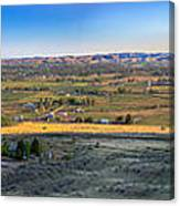 Panoramic Emmett Valley Canvas Print
