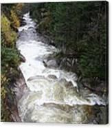 Pemigewasset River Franconia Notch Canvas Print
