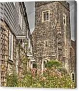 Plaxtol Church And Church Row Canvas Print