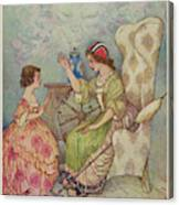 """""""the Young Girls Of Quality Canvas Print"""