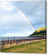 Rainbow Over Bray Head Canvas Print