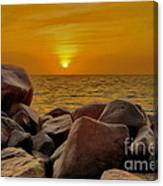 Red Sea Sunset Canvas Print