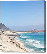 Road And Beaches Of Sao Vicente Cape Verde Canvas Print