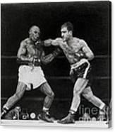 Rocky Marciano Canvas Print