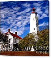 Sandy Hook Light Canvas Print