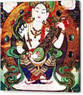Saraswati 10 Canvas Print