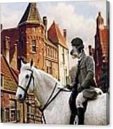 Scottish Deerhound Art Canvas Print Canvas Print