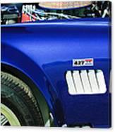Shelby Cobra 427 Engine Canvas Print