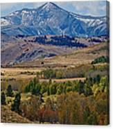 Sierras Mountains Canvas Print