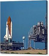 Space Shuttle Roll-around Canvas Print