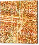 Star Light Of Christmas Canvas Print
