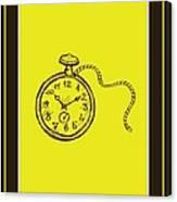 Stop Clock Canvas Print