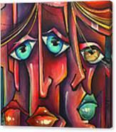 ' Stringers ' Canvas Print