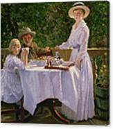 Summer Afternoon Tea Canvas Print
